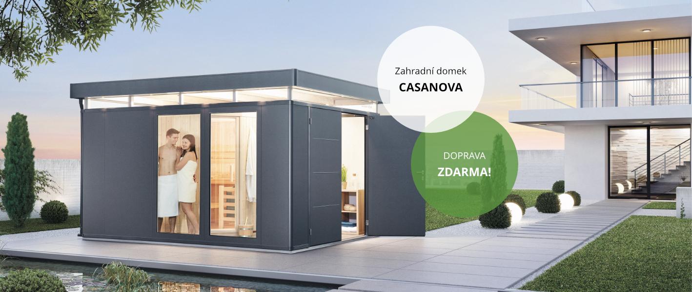 Zahradní domek Casanova
