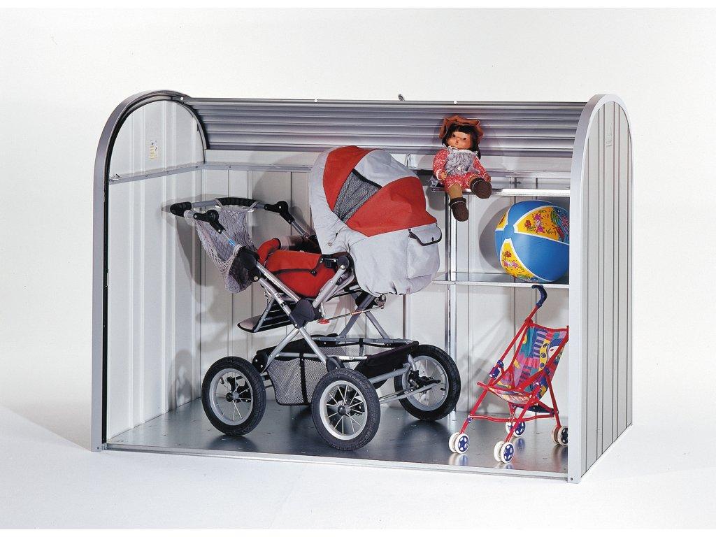 Biohort Úložný box StoreMax® 190, tmavě šedá metalíza