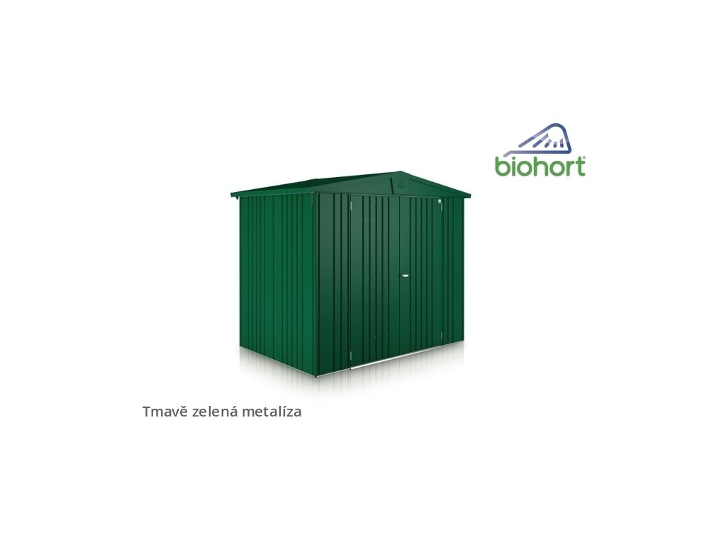 tmave zelena zahradni domky biohort