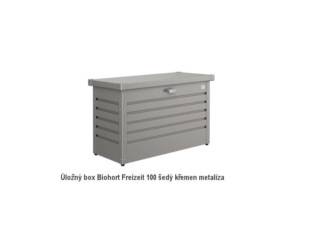 68010 ulozny box freizeitbox 100 sedy kremen metaliza