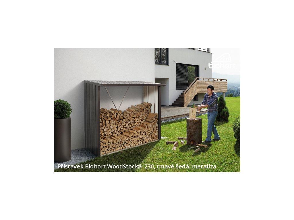 zahradni domky biohort pristavek woodstock 230 s metal 0