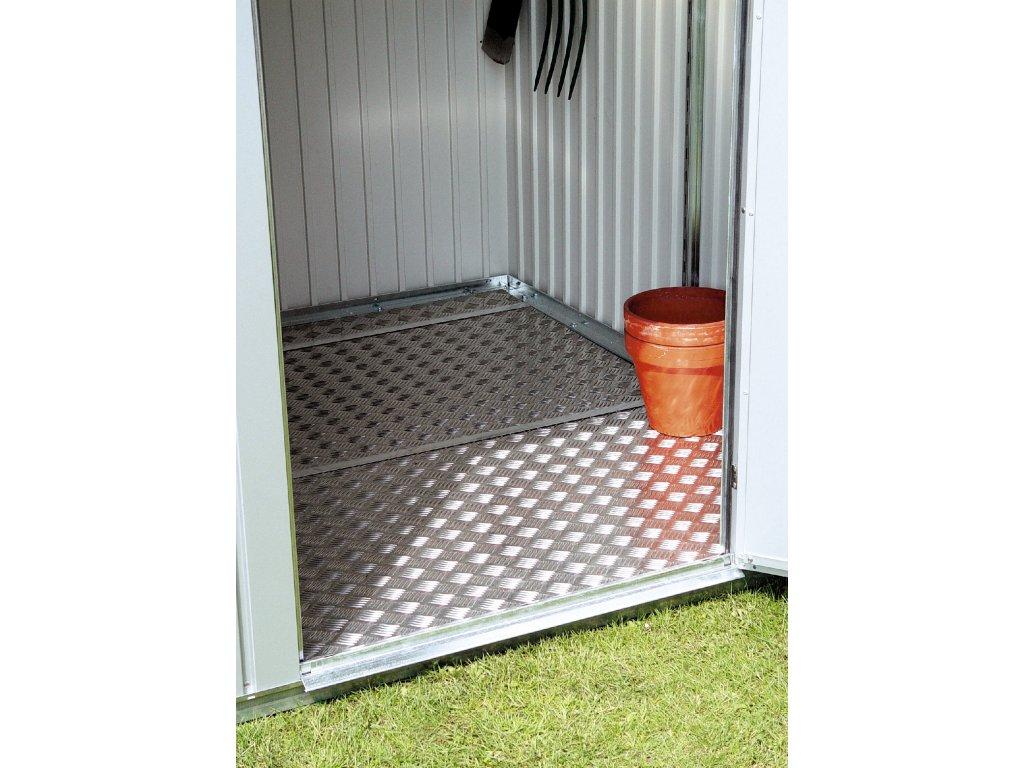 zahradni domky biohort hlinikova podlahova deska