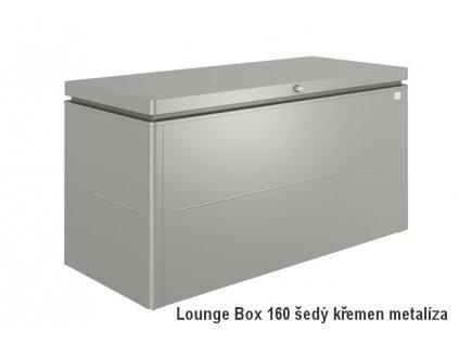 68065 ulozny box loungebox 160 sedy kremen metaliza