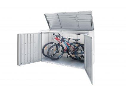 72015 ulozny box biohort high board 160 stribrna metaliza
