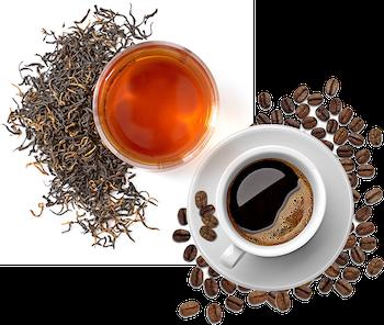 Káva a čaje