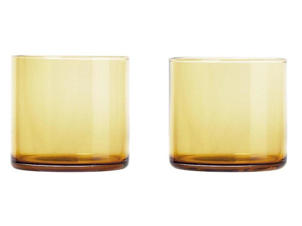 Set 2 ks sklenice, 200 ml, zlaté BLOMUS