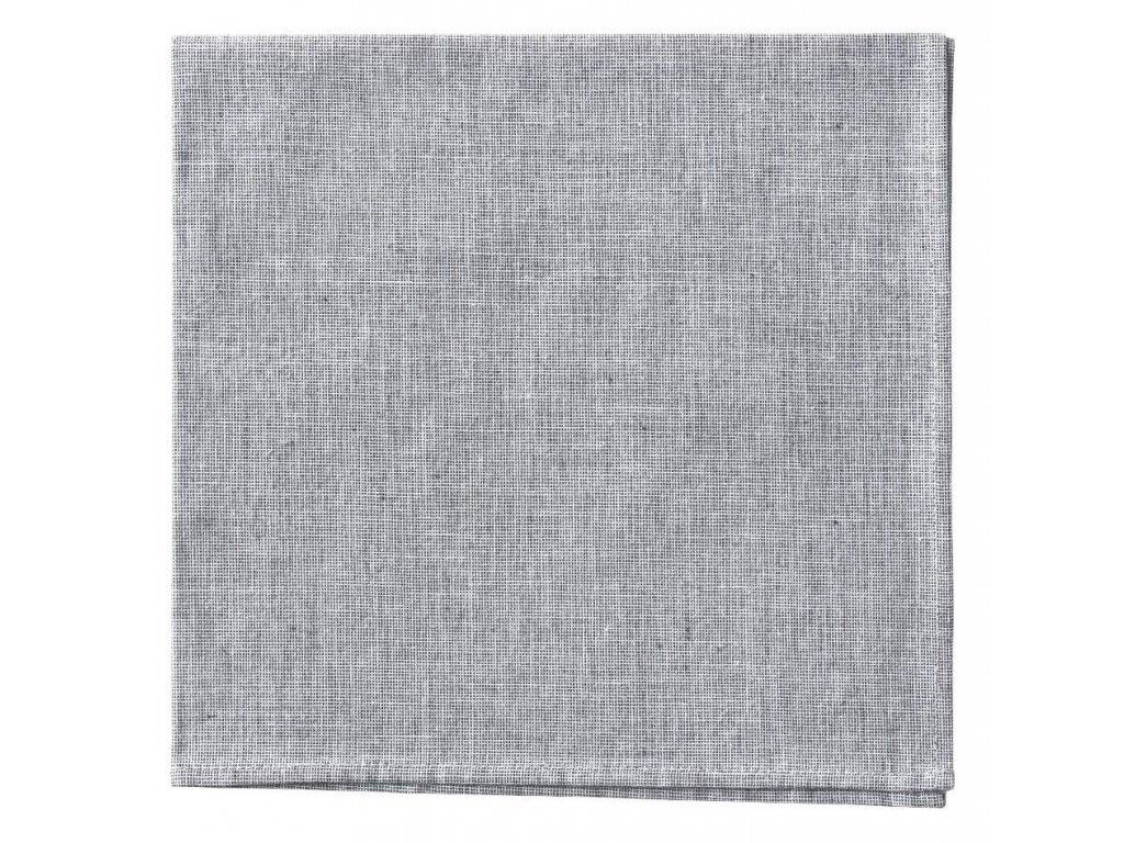 Bavlněný ubrousek 42 x 42 cm, šedý BLOMUS