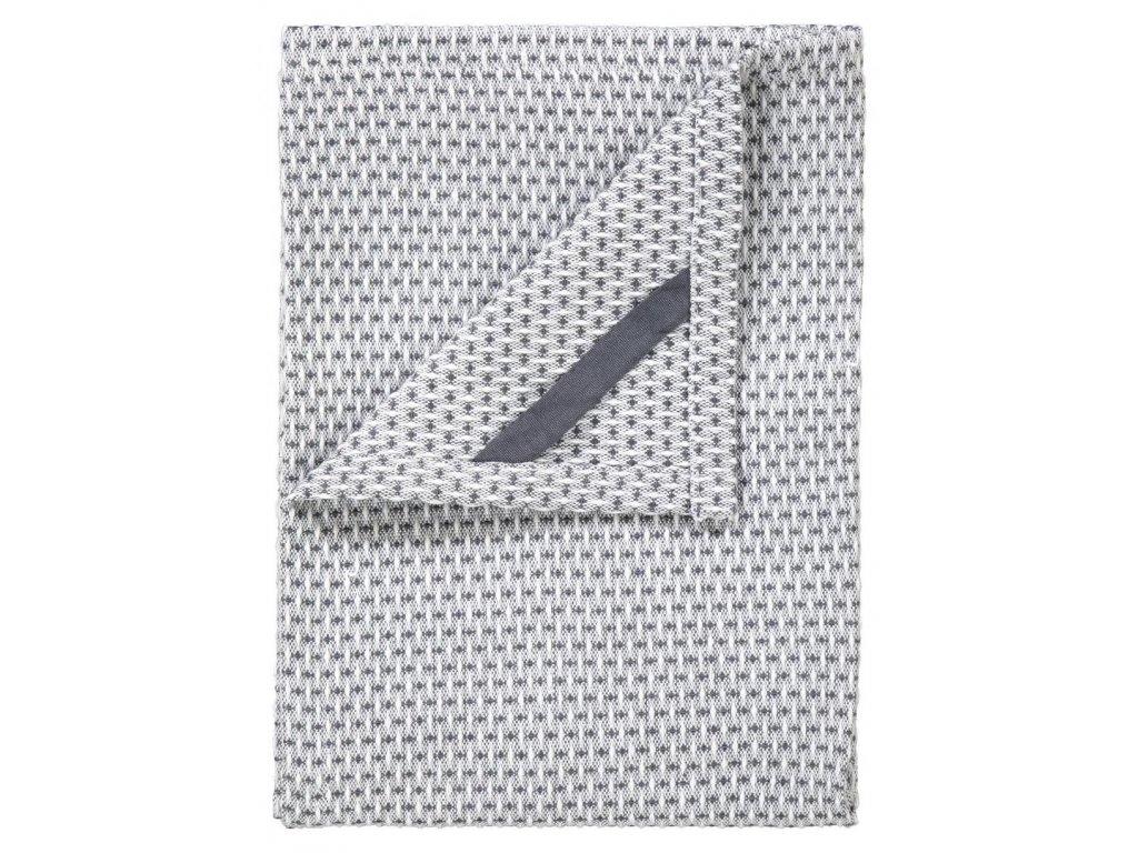 Utěrka na nádobí set 2 ks, 50 x 70 ks, bílé/šedé, ridge BLOMUS
