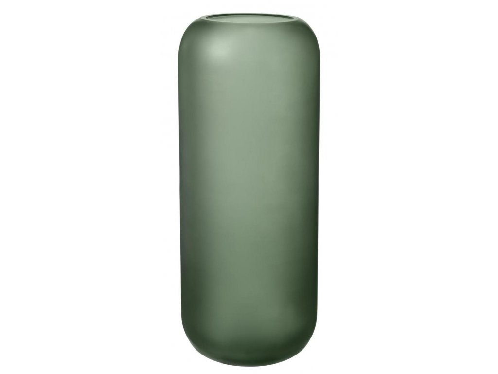 Váza velká, skleněná, zelená BLOMUS