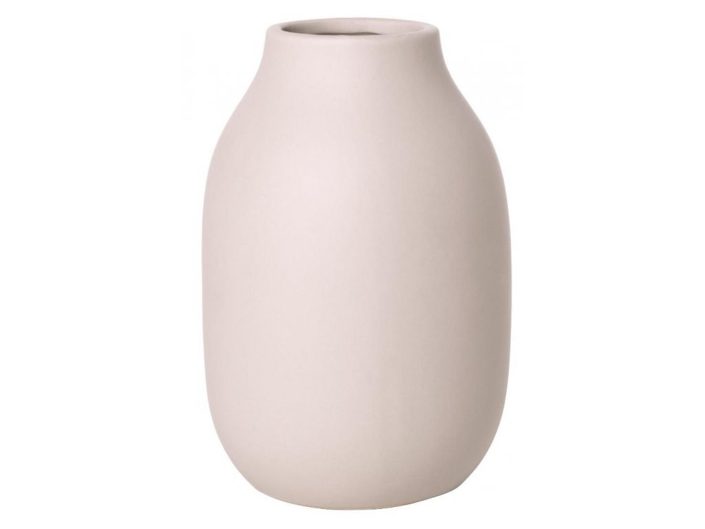Váza malá, porcelánová, světle růžová BLOMUS