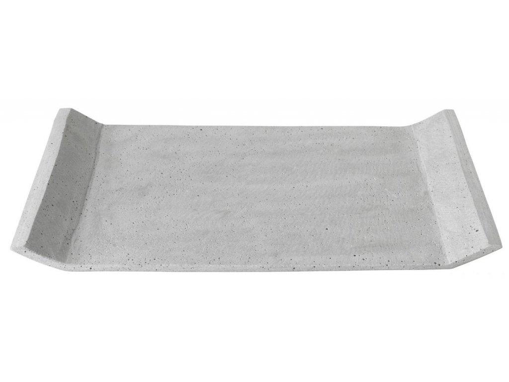 Dekorační odkládací tác, betonový, velký, světle šedý BLOMUS