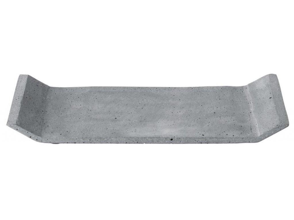 Dekorační odkládací tác, betonový, malý, tmavě šedý BLOMUS