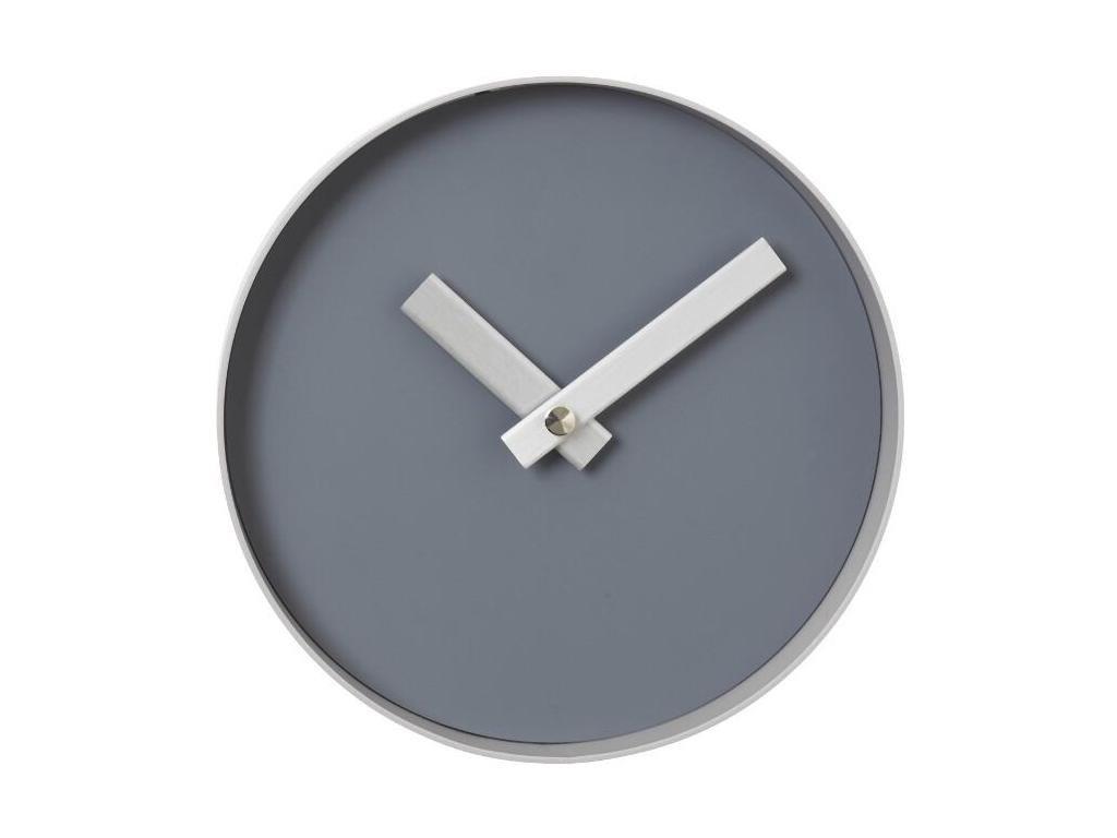 Nástěnné hodiny malé, šedé BLOMUS
