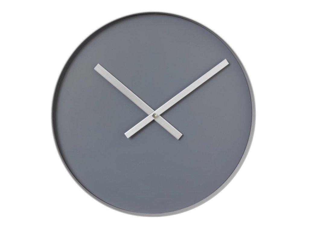 Nástěnné hodiny velké, šedé BLOMUS
