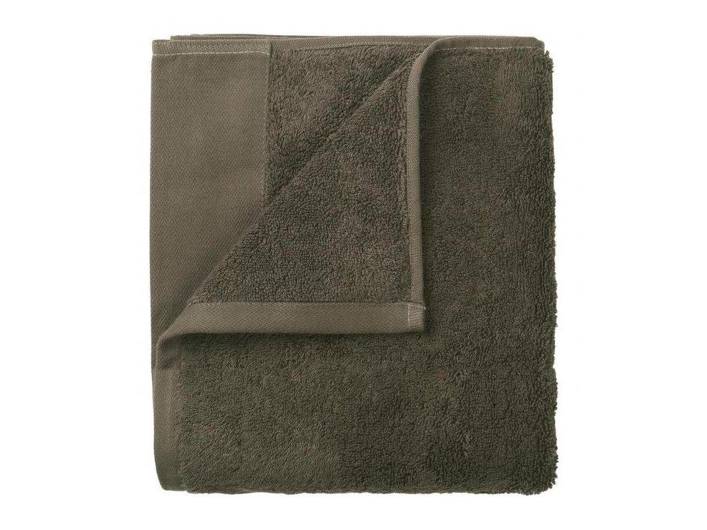 Set 4 ručníků 30 x 30 cm, šedohnědý BLOMUS