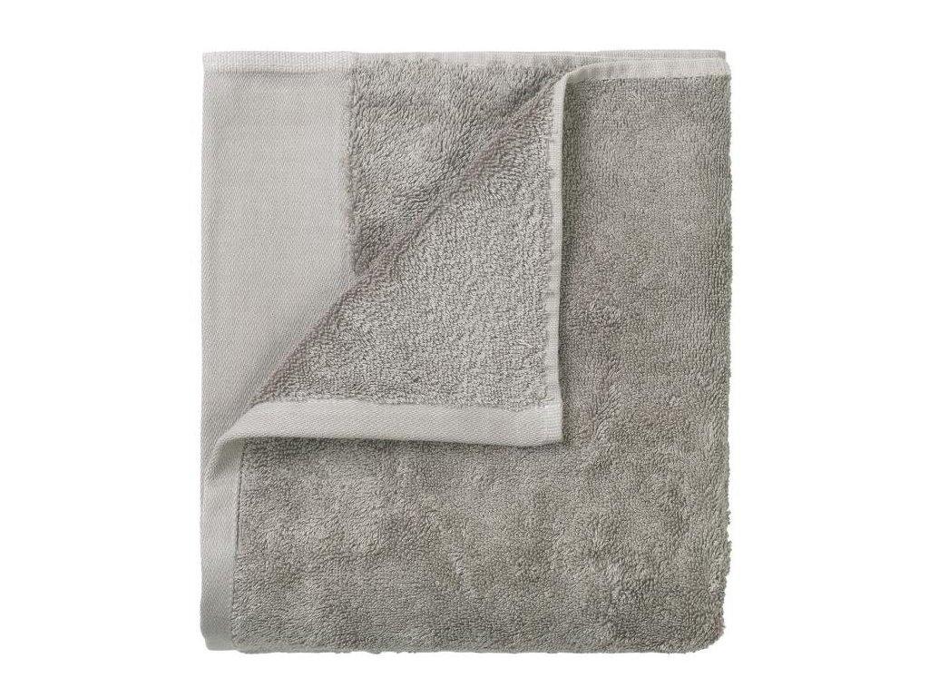 Set 4 ručníků 30 x 30 cm, světle šedý BLOMUS