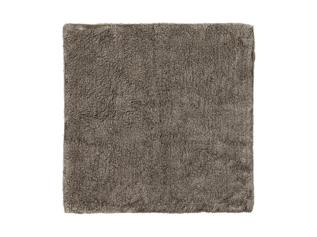 Koupelnová předložka 60 x 60 cm, šedohnědá BLOMUS