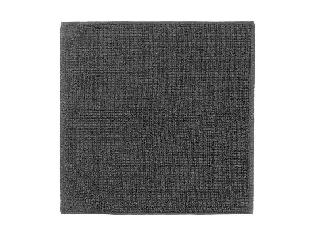 Koupelnová předložka 55 x 55 cm, šedočerná BLOMUS