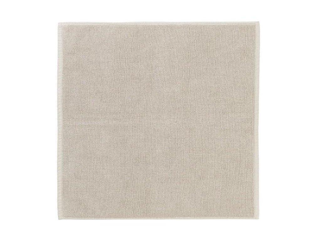 Koupelnová předložka 55 x 55 cm, krémová BLOMUS