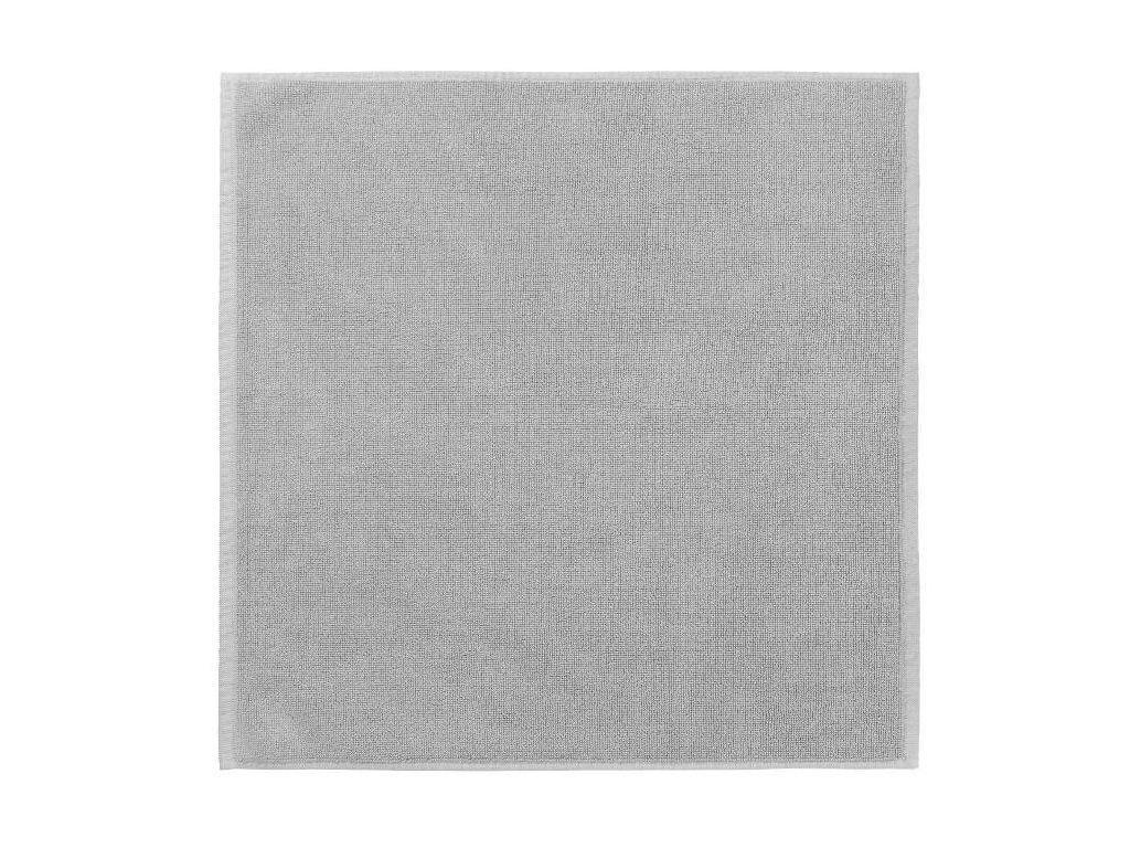 Koupelnová předložka 55 x 55 cm, šedobílá BLOMUS