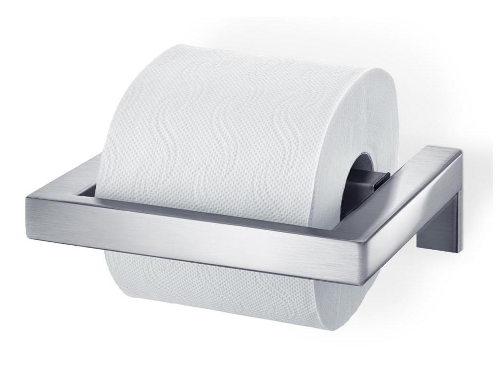Držák na toaletní papír, matný nerez BLOMUS