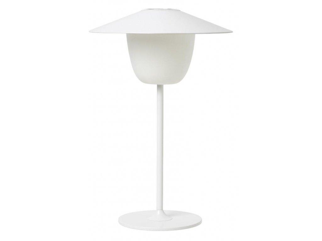 Přenosná LED lampička, bílá, hliníková BLOMUS