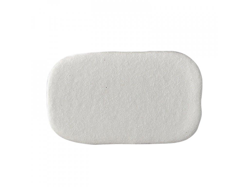 Made in Japan Servírovací deska Stone Slab bílá 22 x 13,5 cm