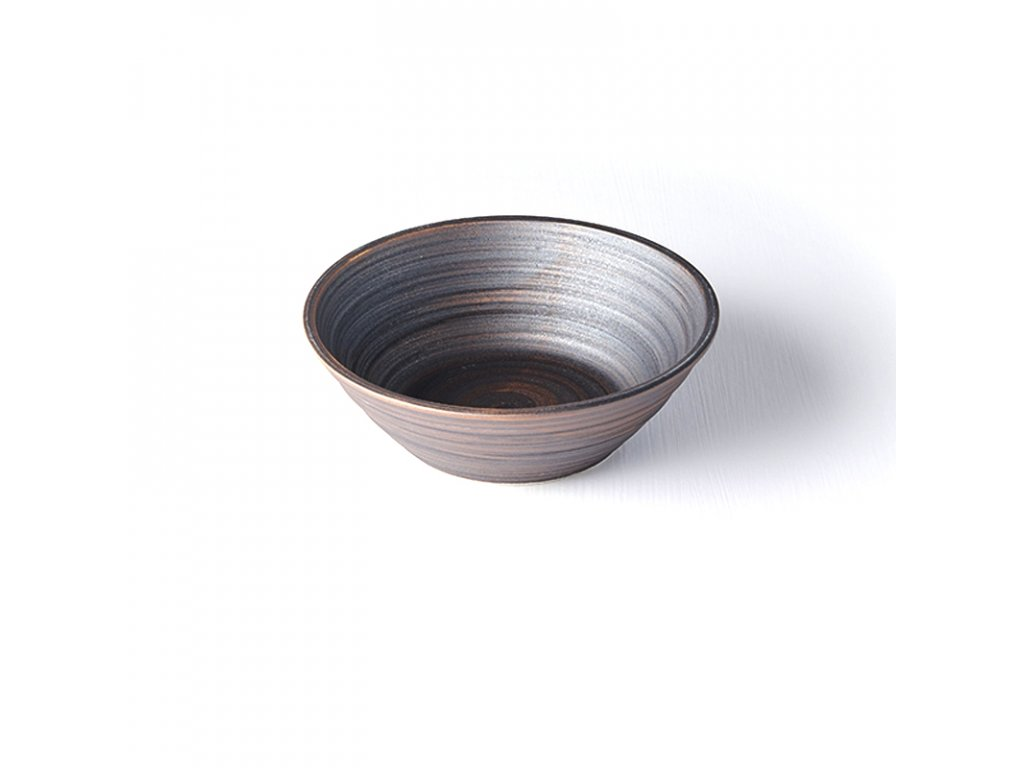 Made in Japan Mísa ve tvaru U metalická 16,5 cm