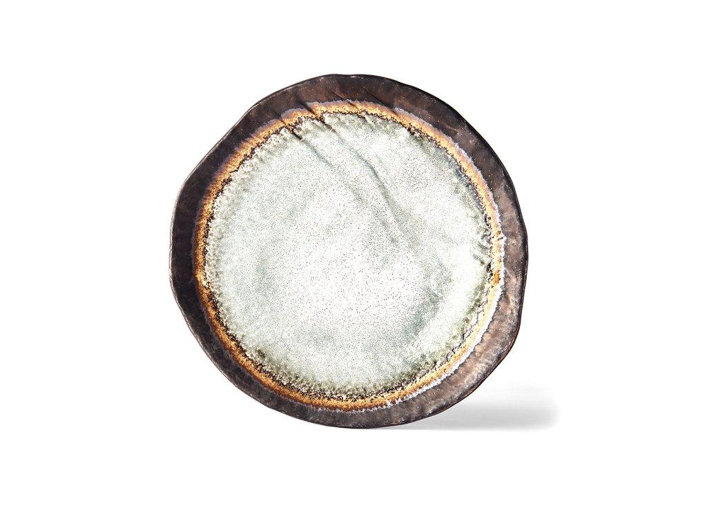 Made in Japan Mělký talíř Akane Grey 27 cm