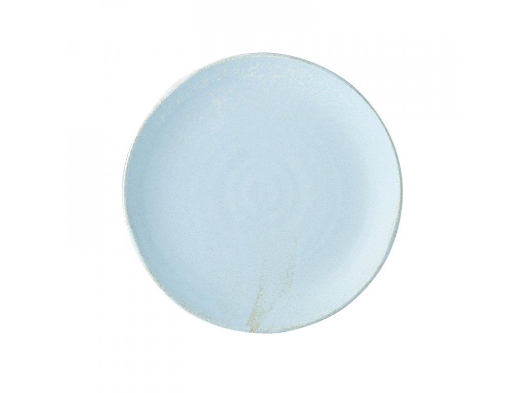 Made in Japan Mělký talíř Soda Blue 24 cm