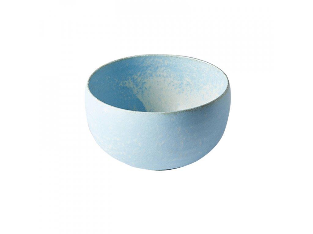 Made in Japan Miska ve tvaru U Soda Blue 15,5 cm 1 l
