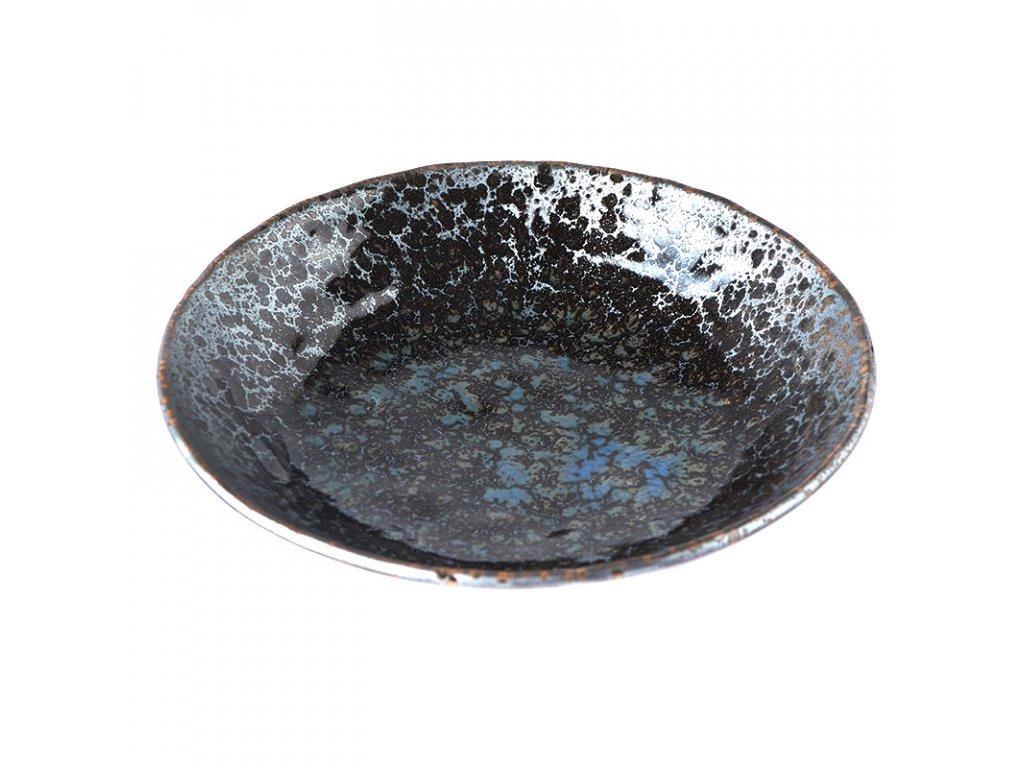 Velká mělká mísa Black Pearl 24 cm 1 l MADE IN JAPAN