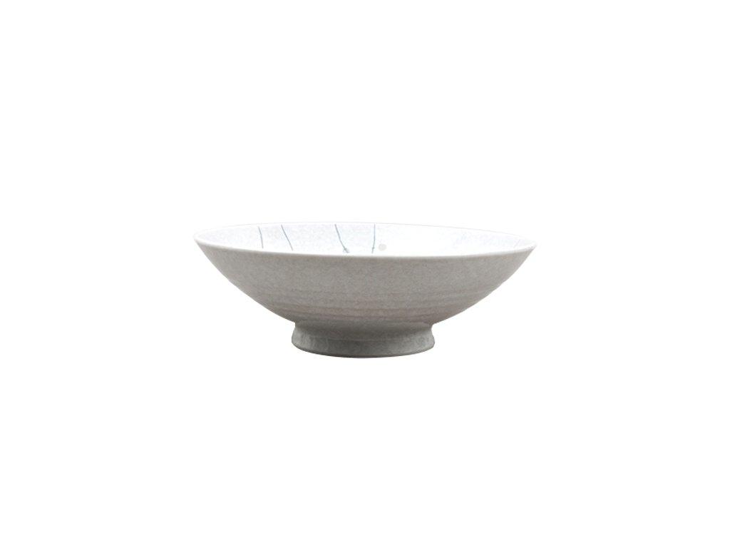 Made in Japan Ramen mísa White Blossom 25 cm