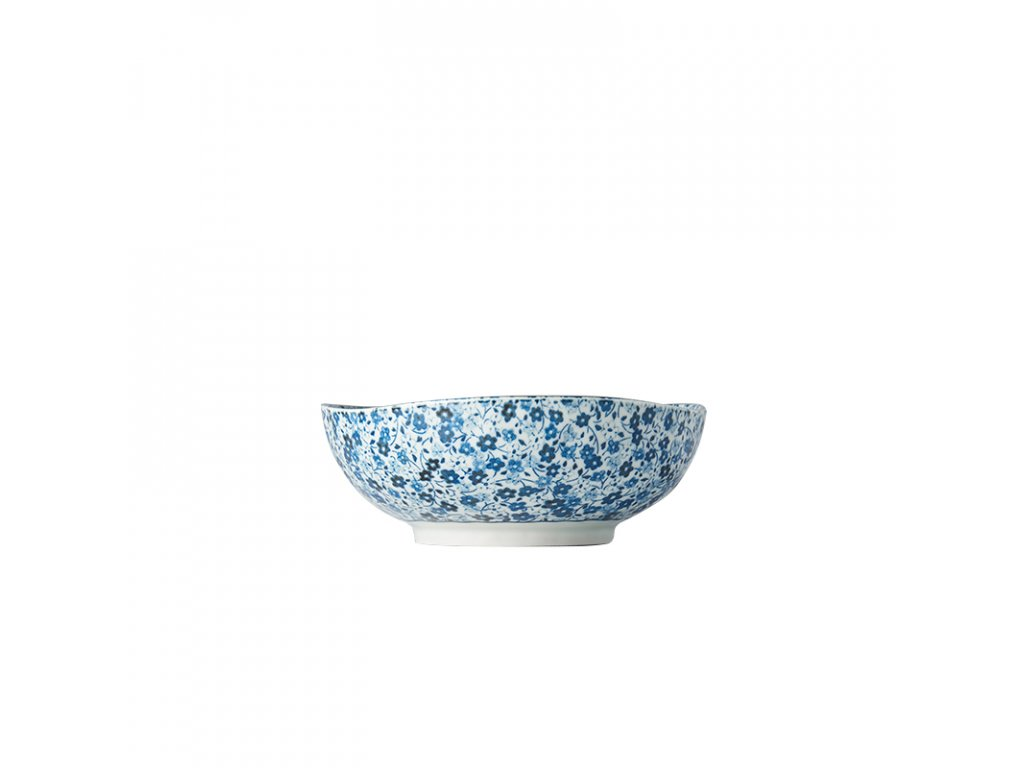 Made in Japan Střední miska Blue Daisy 17 cm 500 ml