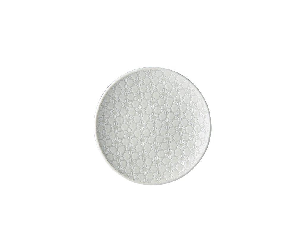 Made in Japan Mělký talíř White Star 20 cm