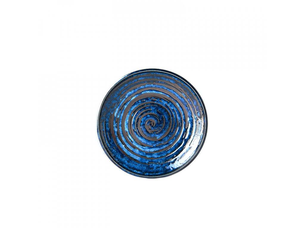 Made in Japan Mělký talíř Copper Swirl 20 cm