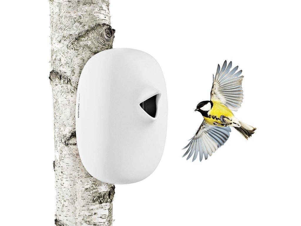 Keramická ptačí budka bílá, Eva Solo