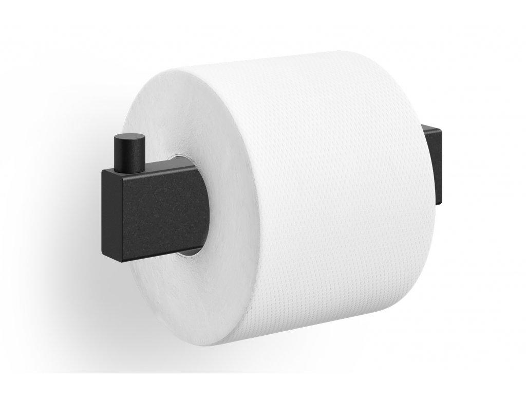 držák toaletního papíru nerezový černý linea Zack