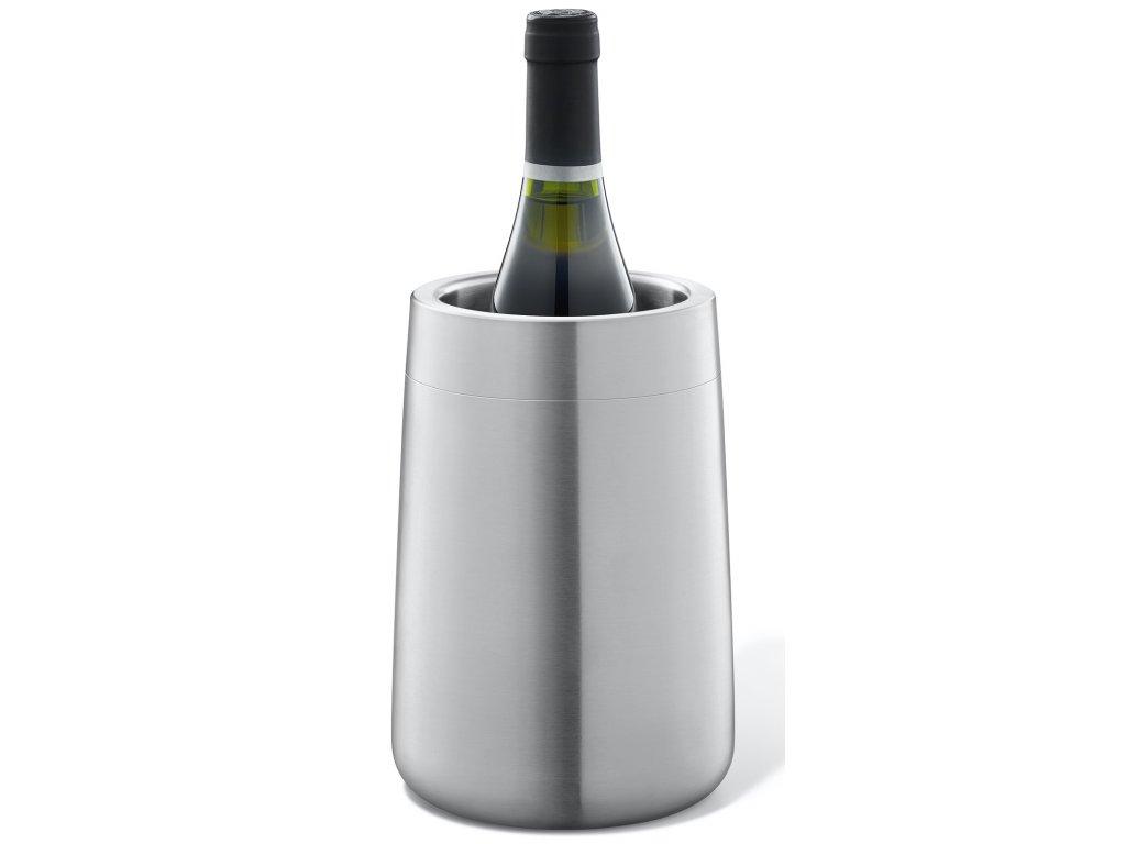 Termo chladící nádoba na víno nerezová, broušená ZACK