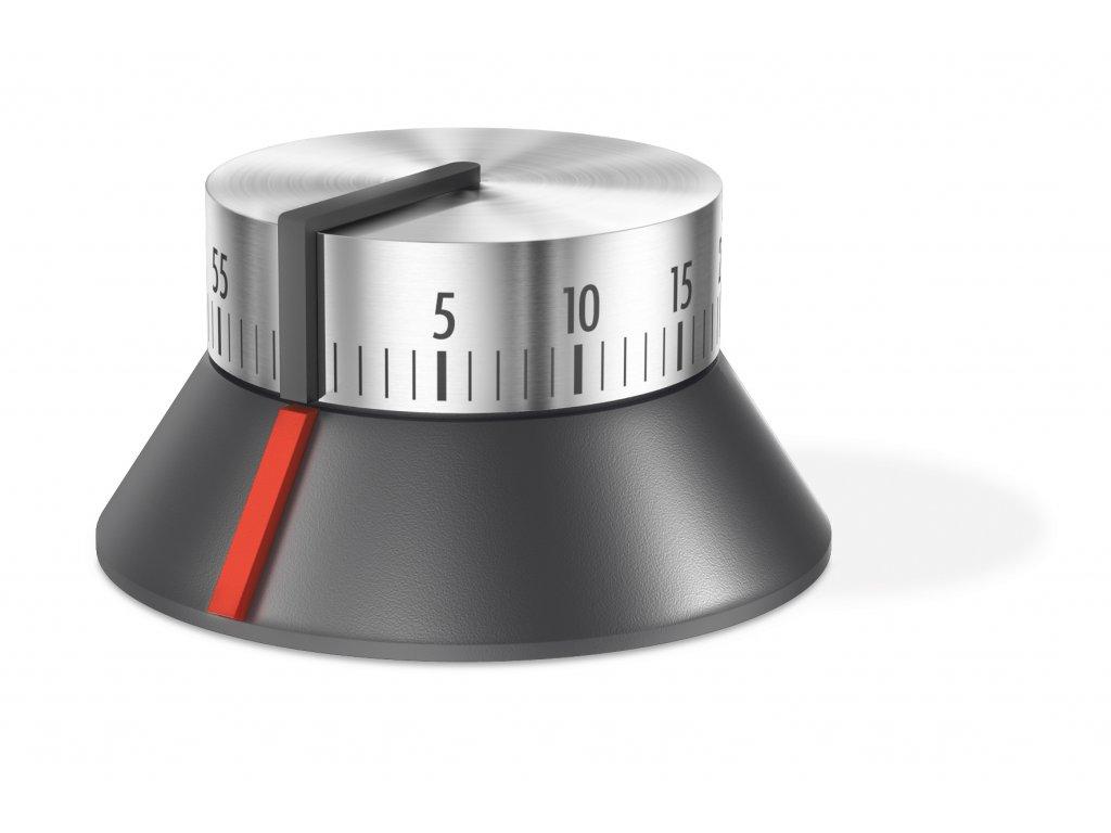 Designová kuchyňská minutka kartáčovaný nerez ZACK