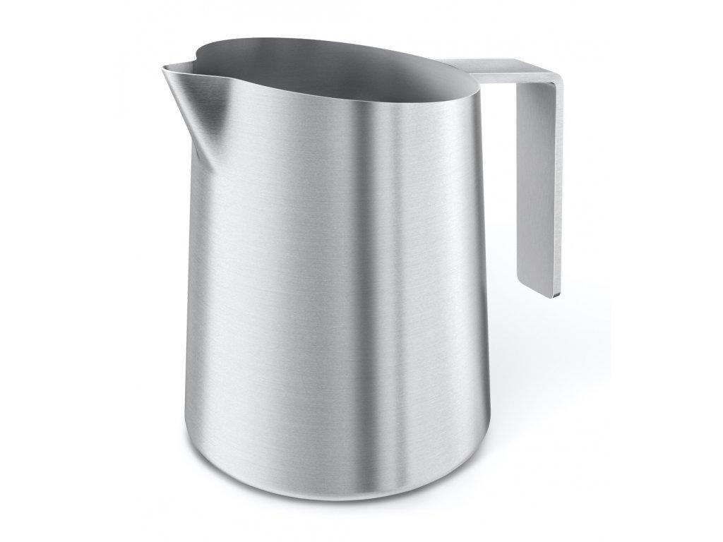 Džbánek na šlehání mléka z broušeného nerezu ZACK