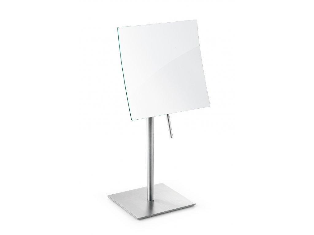 Kosmetické zrcadlo nerezové broušené stojací XERO ZACK