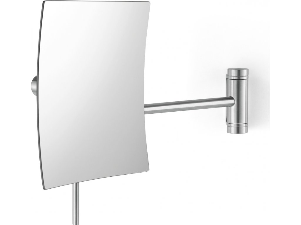 Kosmetické zrcadlo nástěnné nerezové broušené XERO ZACK