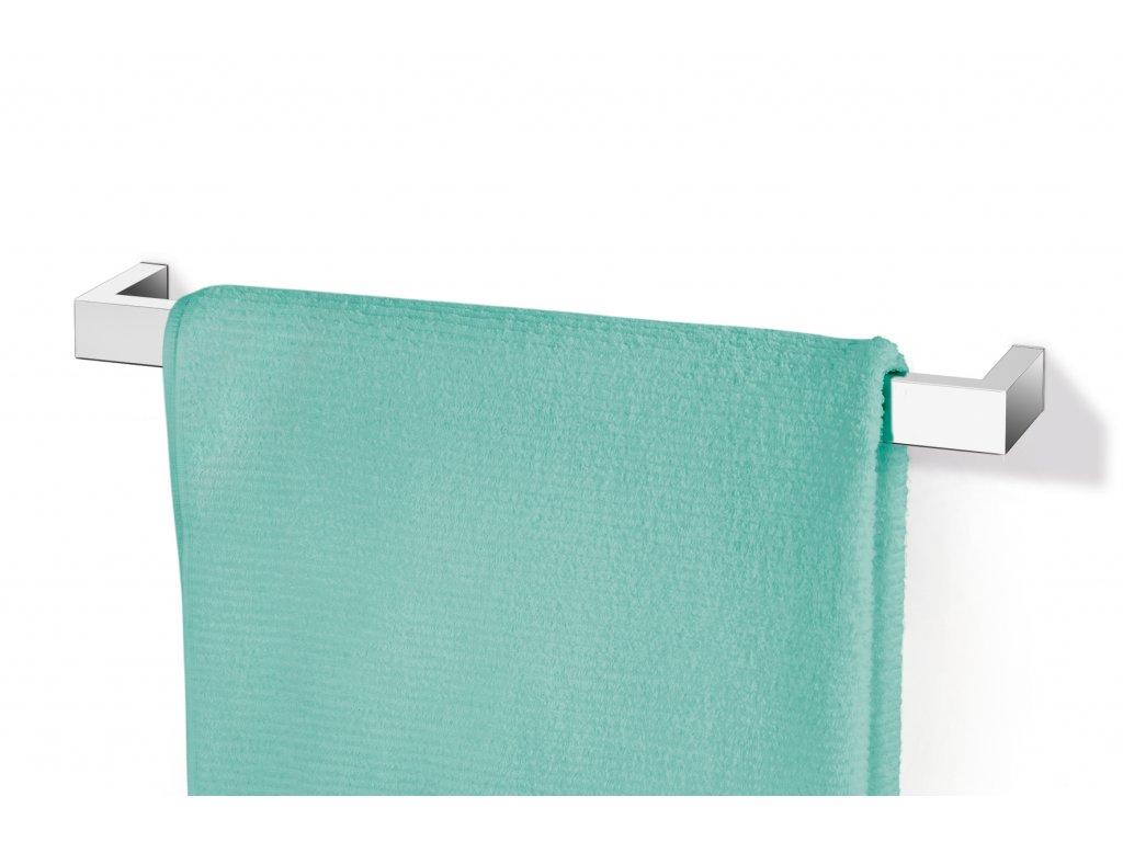 Závěsná tyč na ručníky LINEA 46 cm nerezová lesklá ZACK