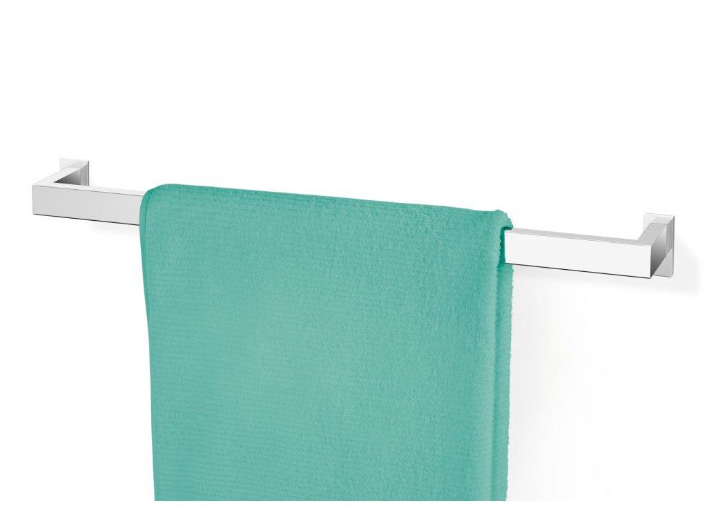 Závěsná tyč na ručníky LINEA 60 cm nerezová lesklá ZACK