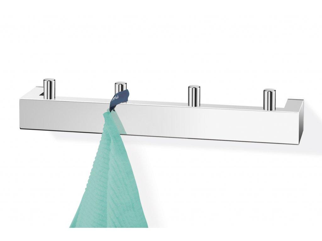 Věšák na ručníky LINEA nerezový lesklý ZACK