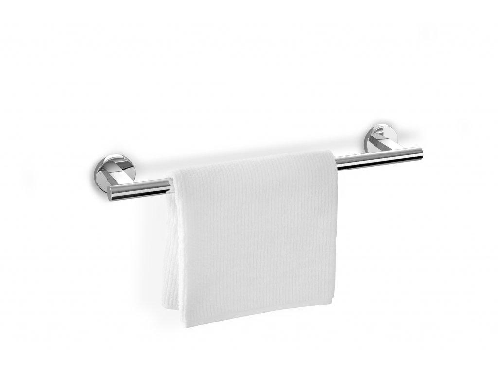 Tyč na ručníky SCALA 45 cm nerezová lesklá ZACK