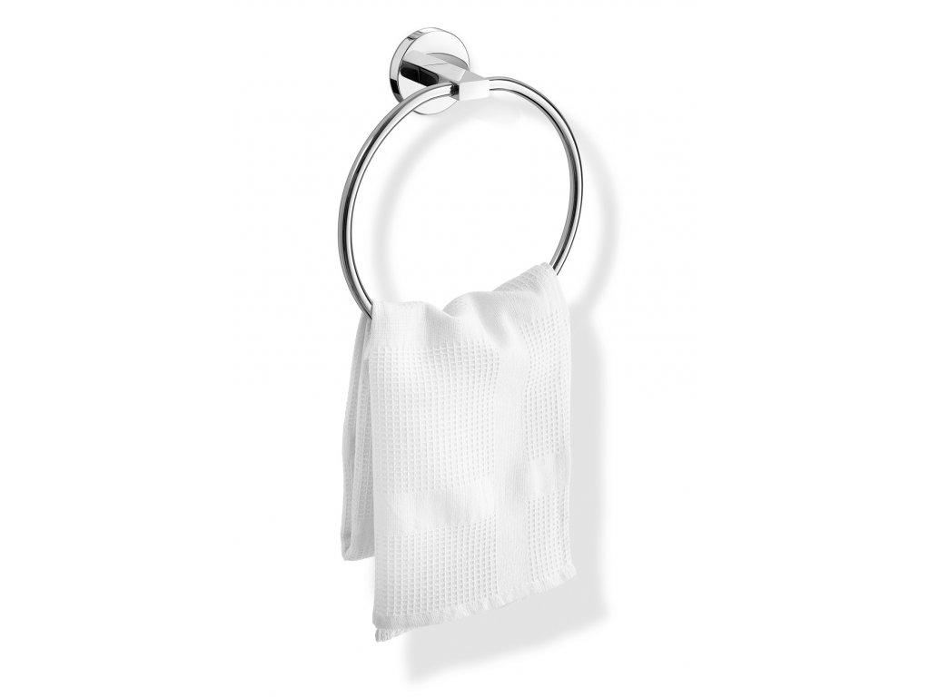 Držák na ručník SCALA kulatý nerezový lesklý ZACK