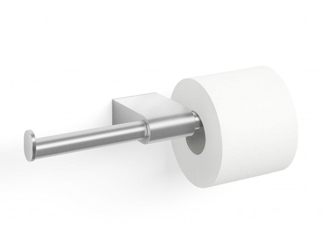 Oboustranný nerezový držák toaletního papíru broušený ZACK