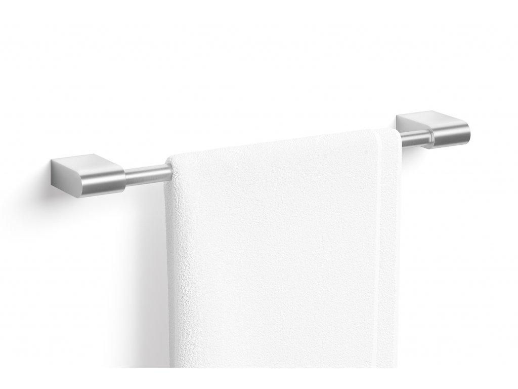Nerezový věšák na ručníky 50 cm nerezový broušený ZACK